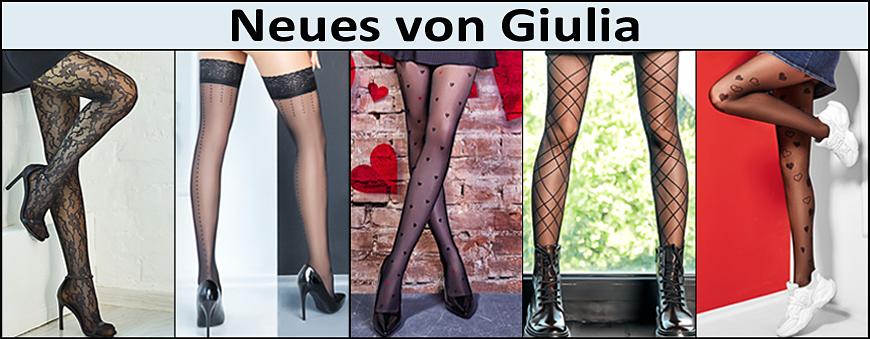 Neue Strumpfhosen und Strümpfe von Giulia