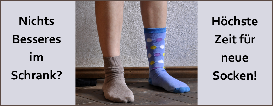 Socken nur paarweise