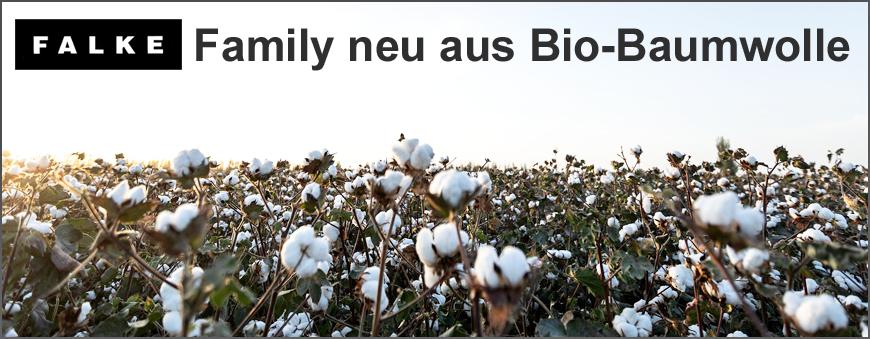 Falke Family Socken aus Bio-Baumwolle