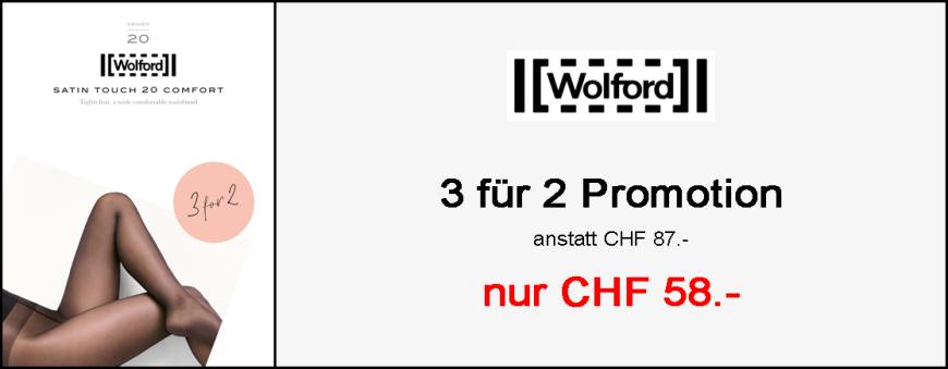 Wolford Satin Touch 20 Comfort Strumpfhose - Promotion 3-für-2